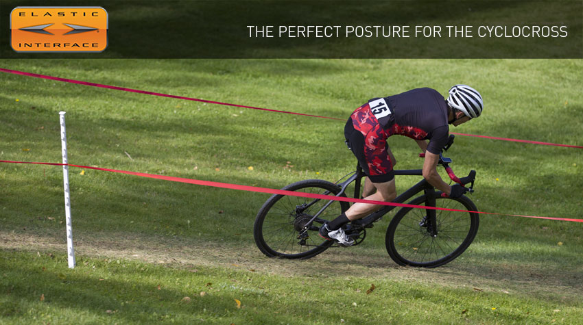 the perfect posture for the cyclocross