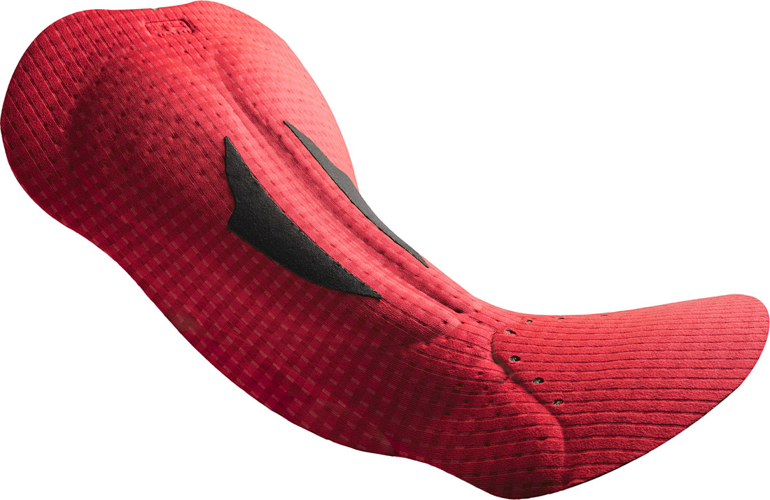 Fondello ciclismo Road ROAD PERFORMANCE FORCE MEN <span style='color:#01b8c0;'>HYBRID</span> Elastic Interface