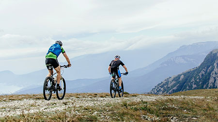 La postura perfetta in sella per la mountain bike