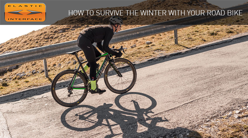 how to survive winter in road bike elastic interface guide