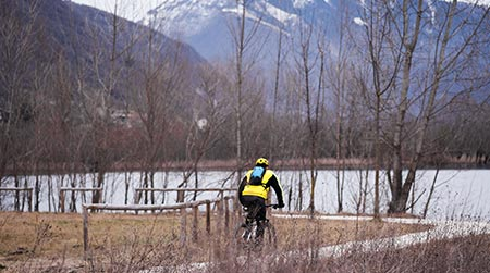 Mountain Bike riding in winter, what you need to know