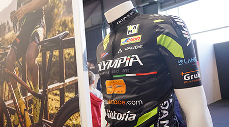 Olympia Factory Team presentation ceremony and interview with rider Jacopo Billi